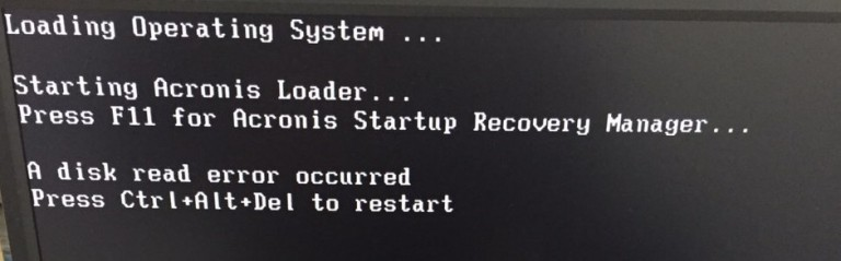 a disk read error occurredエラーで起動出来ない場合に対処する方法!