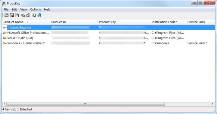 Windowsやofficeのプロダクトキーを調べる方法