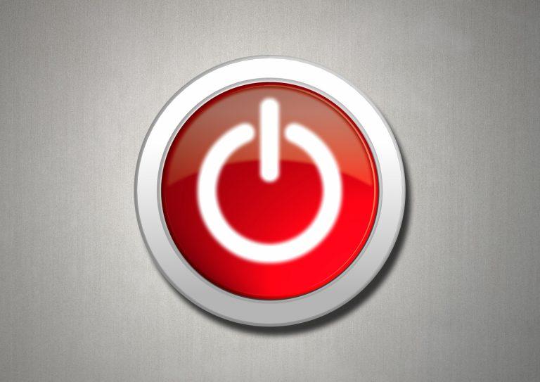 Windowsパソコンの電源ボタンを押した時の動作