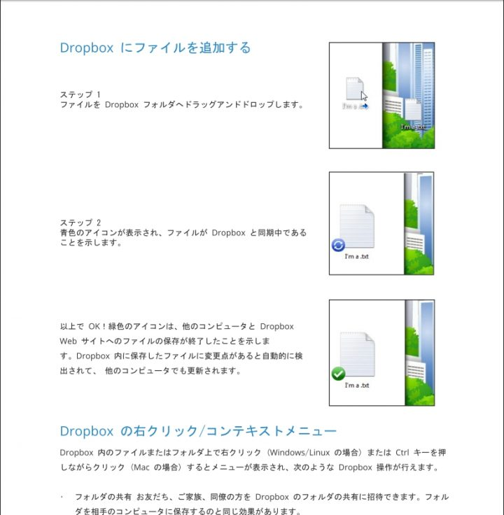 PDFファイルの表示