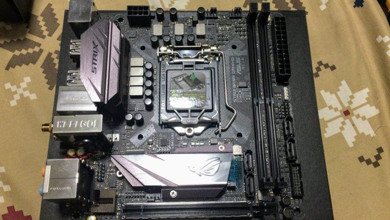 ASUS ROG STRIX B250I GAMING」 自作PC用Mini-ITXマザー