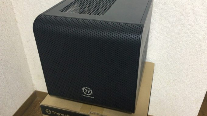 Mini-ITX対応キューブPCケース Thermaltake Core V1のレビュー!コスパ抜群の自作ケース!