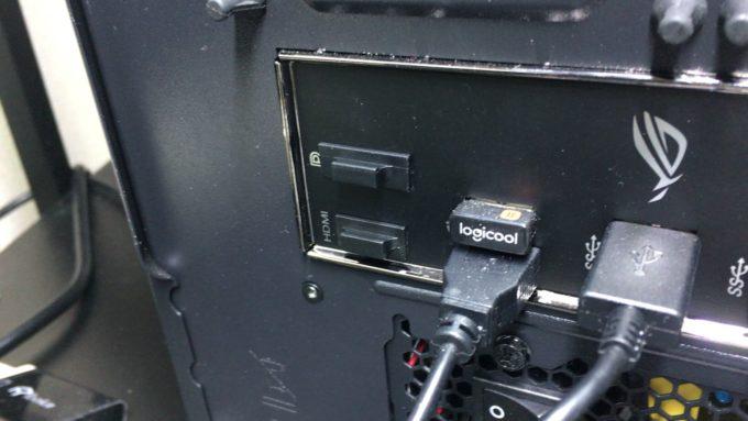 パソコンのHDMI・displayポートのカバー