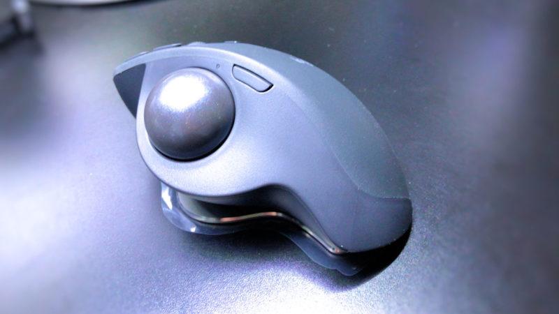 「MX ERGO」の本体ボタン