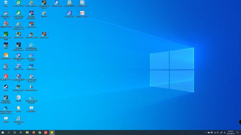 Windows10 May 2019 Update(1903)へアップデート後、デフォルト背景画像がライトカラーに