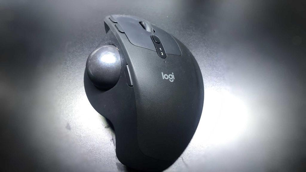 Logicool「 MX ERGO」のマウスカーソルが動かなくなった!メンテナンスして直すポイント!