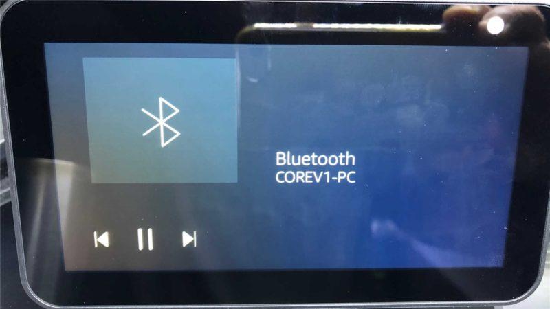 Windows10と「Echo Show 5」がBluetooth接続のペアリングに成功