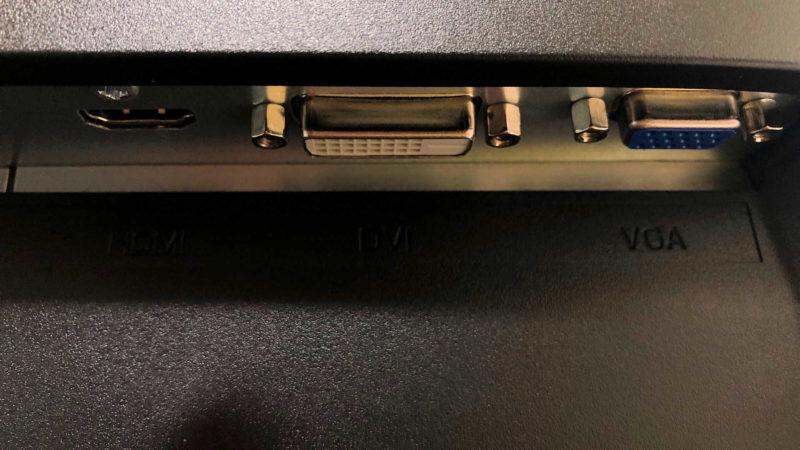 「EX-LD2381DB」の入力端子部