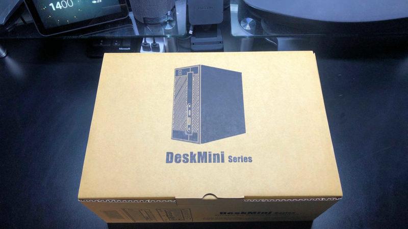 ASRock Intel H310搭載ベアボーンPC「DeskMini 310 Series」のパッケージ