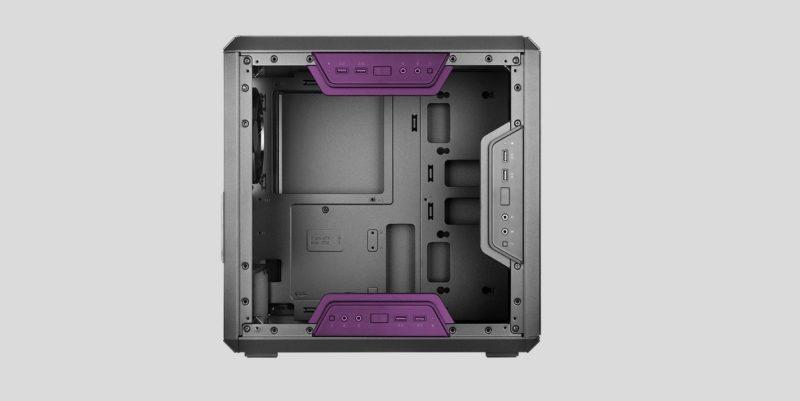 MasterBox Q300LのI/Oパネル位置