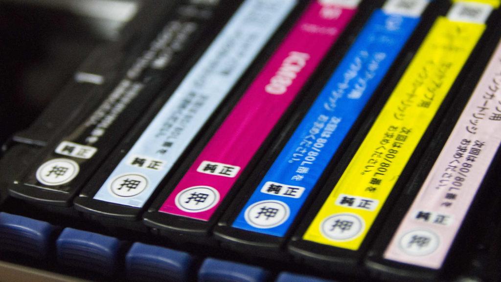 インクジェットプリンターの交換用インクの選び方