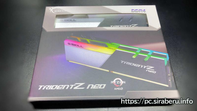 メモリ G.SKILL 32GB(F4-3600C16D-32GTZNC)