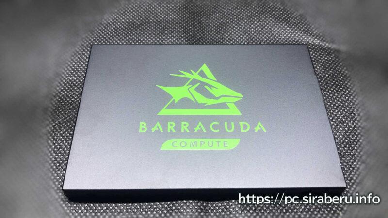 Seagate SSD 1TB BarraCuda 120の表面