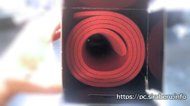ゲーミングマウスパッド MP-G03BKのパッケージ開封
