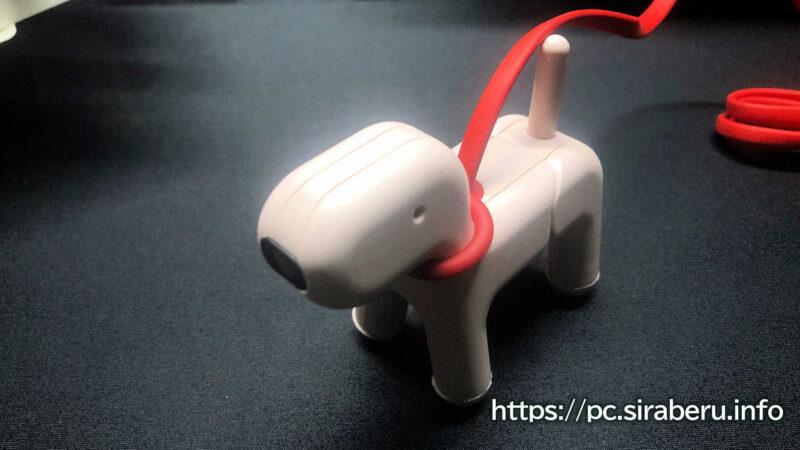 見た目が可愛い犬型Webカメラ「wanco(わんこ)」UCAM-C525FB