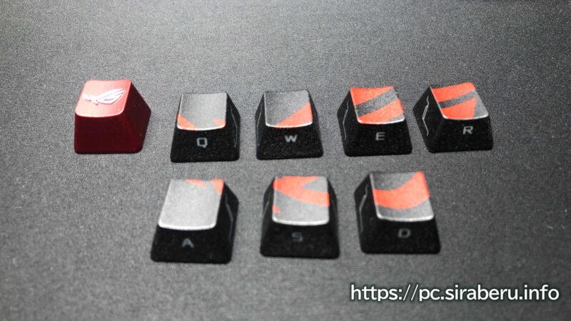 ASUS ROGゲーミングキーキャップセット