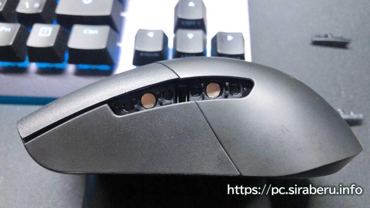 「ROG Keris Wireless(P513)」のサイドボタンを交換